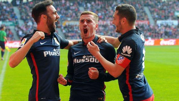Zauber-Freistoß von Griezmann bei Atletico-Pleite! (Bild: AFP or licensors)