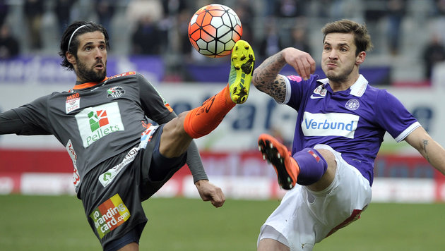 Austria stolpert gegen WAC zu mauem 0:0 (Bild: APA/HANS PUNZ)