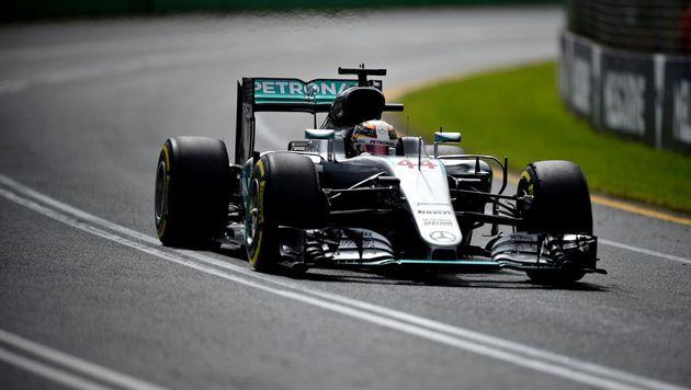 Hamilton erobert in Melbourne 50. Karriere-Pole (Bild: AFP)