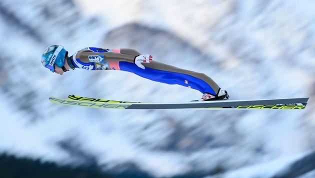 ÖSV-Adler bei Planica-Teambewerb Dritte (Bild: AFP)