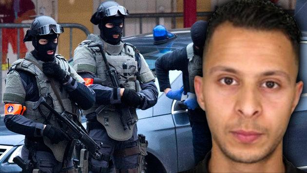 Paris-Terrorist Salah Abdeslam in Belgien gefasst (Bild: APA/AFP/POLICE NATIONALE/DSK, ASSOCIATED PRESS)