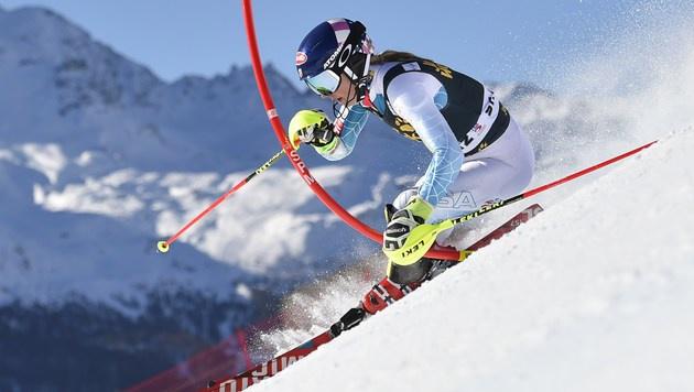Shiffrin siegt in St. Moritz, Kirchgasser Fünfte (Bild: AFP)