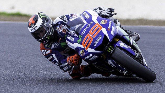 "Weltmeister Lorenzo holt beim Saisonauftakt ""Pole"" (Bild: APA/AFP/THEO KARANIKOS)"