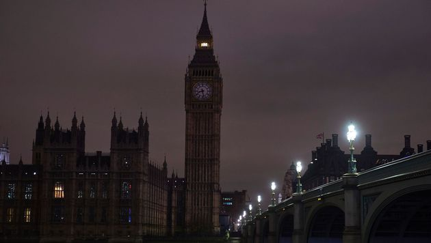 Licht aus in London (Bild: APA/AFP/NIKLAS HALLE'N)