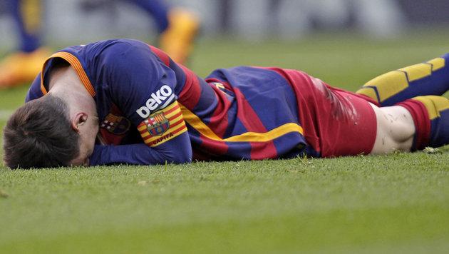 2:2! Barcelona verspielt 2:0-Führung in Villarreal (Bild: AP)