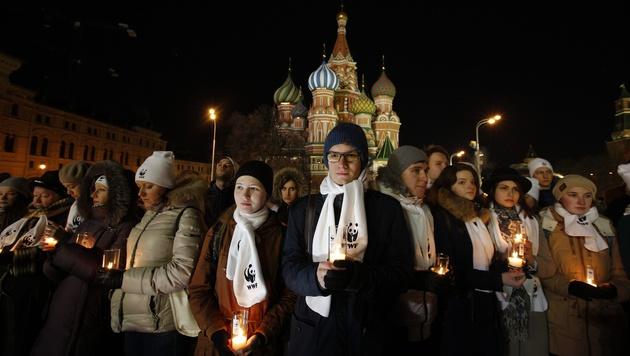 Moskau (Bild: AP)