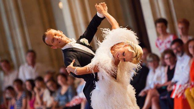 EM-Gold für Vadim Garbuzov und Kathrin Menzinger (Bild: doubledance)