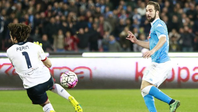 Higuain-Doppelpack: Napoli macht Druck auf Juve! (Bild: CARLO HERMANN)