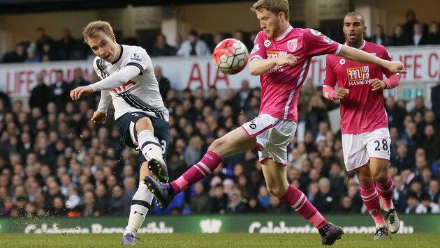Kevin Wimmer und Tottenham ärgern Leicester weiter (Bild: AP)