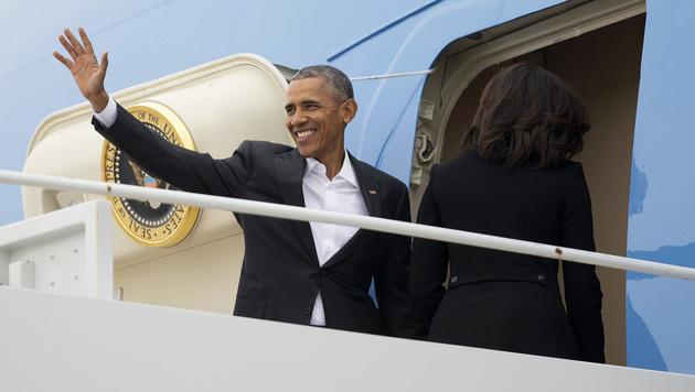 US-Präsident Obama zu historischem Besuch in Kuba (Bild: AP)