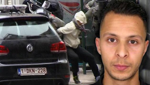Salah Abdeslam bei seiner Verhaftung (Bild: ASSOCIATED PRESS, APA/AFP/POLICE NATIONALE/DSK)