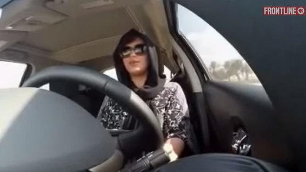 Dieser Frau wurde schon mit Mord gedroht - weil sie Auto f�hrt. (Bild: FRONTLINE PBS)