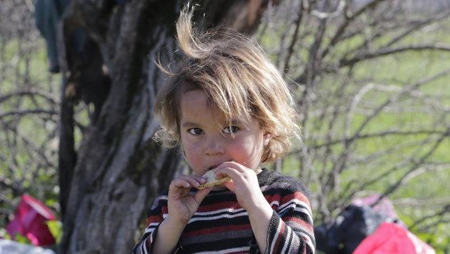 Laut den Behörden handelt es sich bei 40 Prozent der Flüchtlinge um Familien und Kinder. (Bild: Klemens Groh)