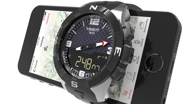Schweizer Uhrenbranche setzt auf Smartwatches (Bild: Tissot)