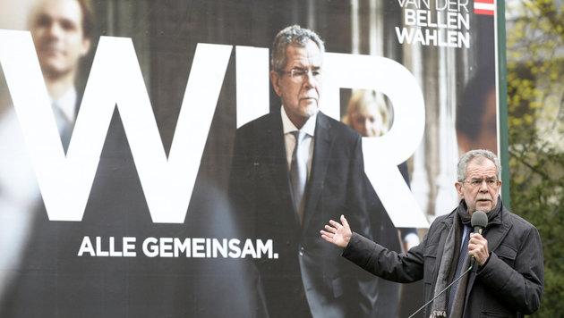 "Van der Bellen: ""Heimat braucht Zusammenhalt"" (Bild: APA/HANS KLAUS TECHT)"