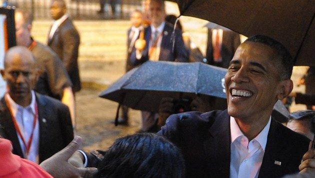 Obama bei seinem historischen Kuba-Besuch im März 2016 (Bild: AFP)