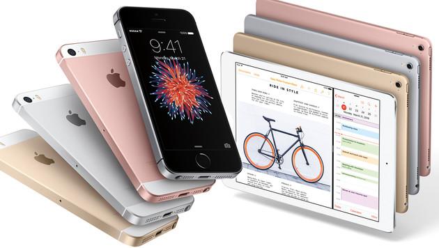 Apple enthüllt iPhone SE und neues iPad Pro (Bild: Apple)