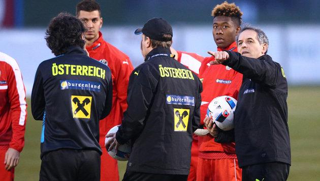 Erstes ÖFB-Team-Training vor 1.500 Fans (Bild: GEPA)
