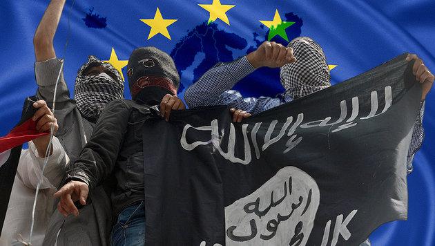 Experten warnen vor neuer Welle des Terrorismus (Bild: AFP, thinkstockphotos.de)