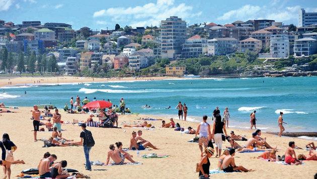 Der berühmte Bondi Beach (Bild: Eva Lehner)