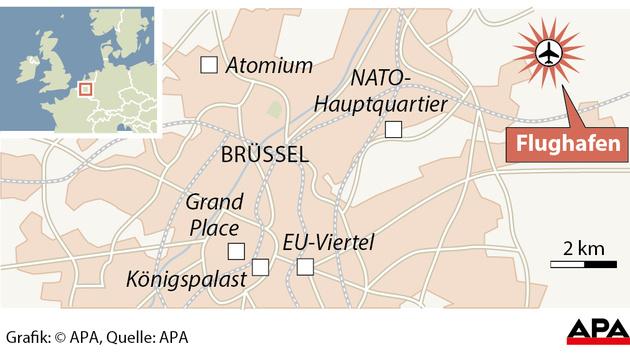 Blutbad in Brüssel: Rache-Terror im Herzen Europas (Bild: APA)