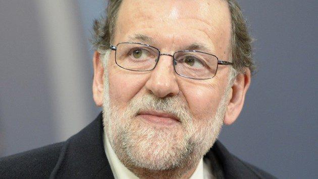 Mariano Rajoy (Bild: APA/AFP/THIERRY CHARLIER)