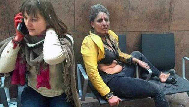 Mann überlebte Terror in Brüssel, Paris und Boston (Bild: twitter.com)