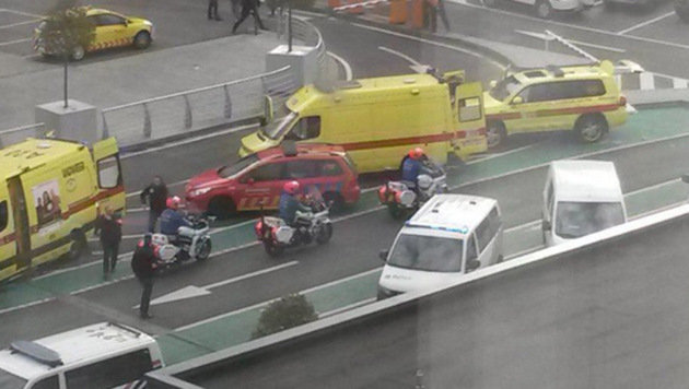 22. März 2016: Selbstmordattentate fordern in Brüssel 35 Tote und 300 Verletzte. (Bild: twitter.com/CNN)