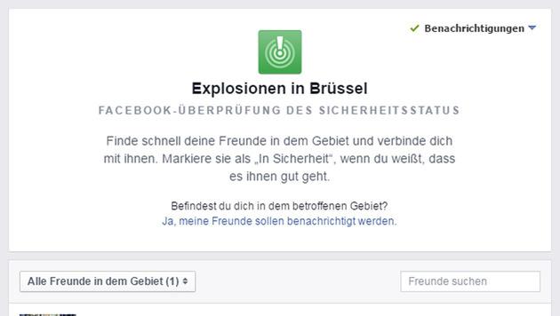 Blutbad in Brüssel: Rache-Terror im Herzen Europas (Bild: facebook.com)