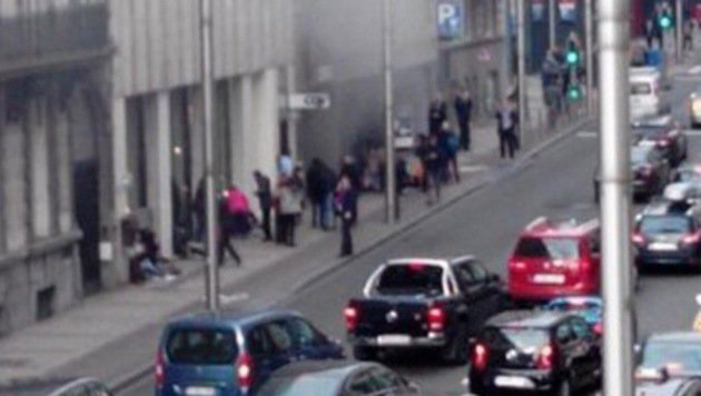 Blutbad in Brüssel: Rache-Terror im Herzen Europas (Bild: twitter.com/franky131071)