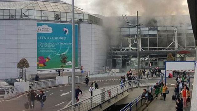 Blutbad in Brüssel: Rache-Terror im Herzen Europas (Bild: twitter.com/airlivenet)