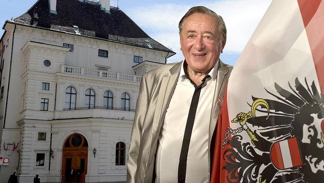 Lugner mit Anwalt gegen Nichteinladung des ORF (Bild: APA/HERBERT NEUBAUER, APA/ROLAND SCHLAGER)