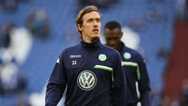 """""""Bad Boy"""" Kruse: Wolfsburg hält (noch) zu ihm (Bild: GEPA)"""