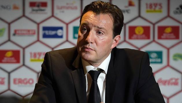 Belgiens Nationaltrainer Marc Wilmots (Bild: AFP or licensors)