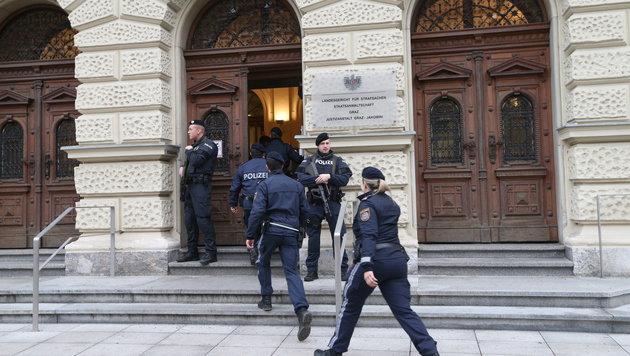 Je 4 Jahre Haft bei Grazer Dschihadisten-Prozess (Bild: Jürgen Radspieler (Symbolbild))
