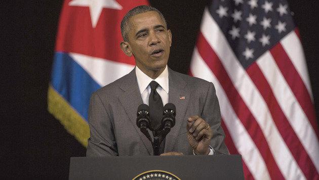 Obama in Havanna: Der Kalte Krieg ist zu Ende (Bild: Associated Press)