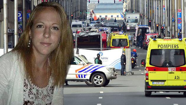 """Wienerin in Brüssel: """"Gefühl von Machtlosigkeit"""" (Bild: privat, APA/AFP/Emmanuel Dunand)"""