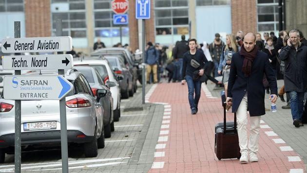 Blutbad in Brüssel: Rache-Terror im Herzen Europas (Bild: APA/AFP/Belga/DIRK WAEM)