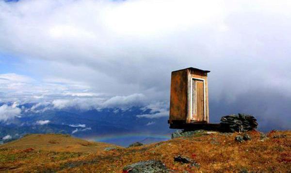 """""""Die schrillsten Toiletten der Welt (Bild: Caternews/SIPA)"""""""
