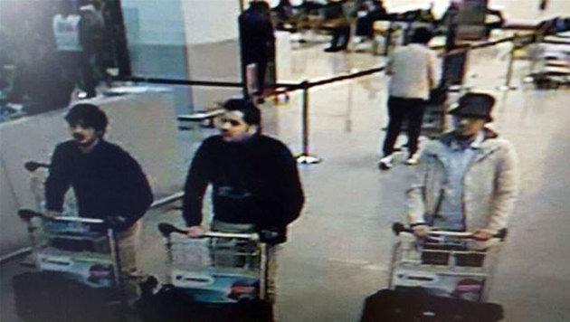 Blutbad in Brüssel: Rache-Terror im Herzen Europas (Bild: APA/AFP/Belgian Federal Police)