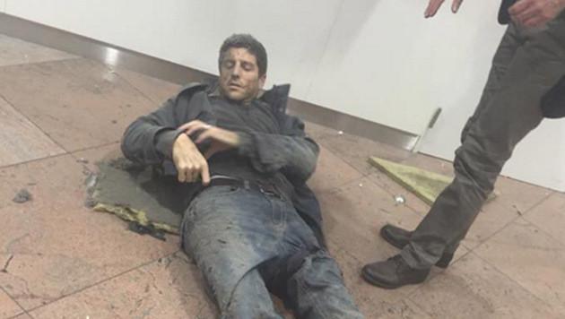 Mann überlebte Terror in Brüssel, Paris und Boston (Bild: twitter.com/Boulevard_Blum)