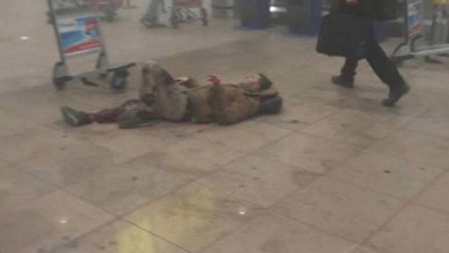 Blutbad in Brüssel: Rache-Terror im Herzen Europas (Bild: twitter.com/MrAyeDee)