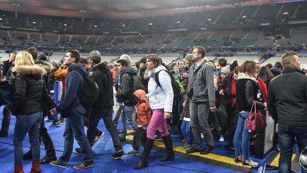 Das Pariser Stade de France (Bild: APA/EPA/UWE ANSPACH)