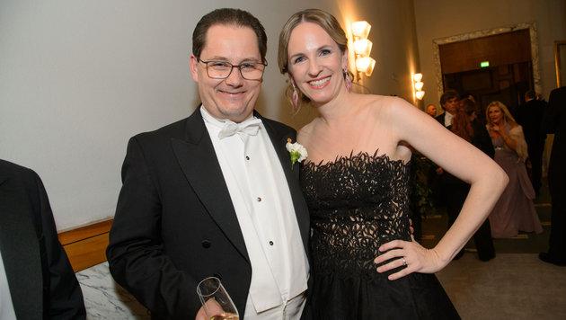 Andreas und Maria Großbauer am 60. Wiener Opernball (Bild: Viennareport)