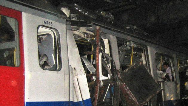 2005 starben beim Anschlag auf die Metro in London 52 Menschen. (Bild: AP)