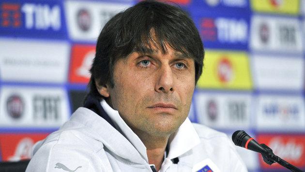 Antonio Conte vor Italien - Spanien im Mittelpunkt (Bild: AP)