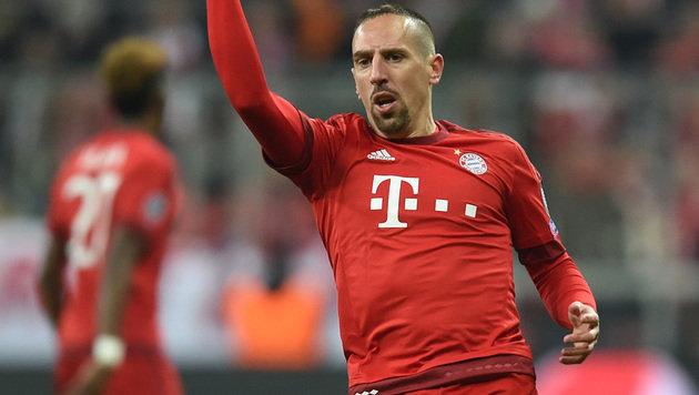 Franck Riberys Bayern-Luxus-Schlitten ist kaputt (Bild: APA/AFP/CHRISTOF STACHE)