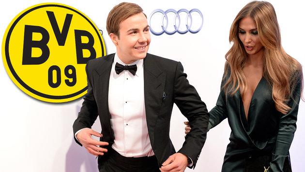 Mario Götze soll zurück zu Borussia Dortmund (Bild: APA/ROLAND SCHLAGER, Borussia Dortmund)