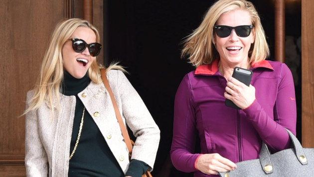 Beste Freundinnen: Reese Witherspoon und Chelsea Handler (Bild: www.viennareport.at)