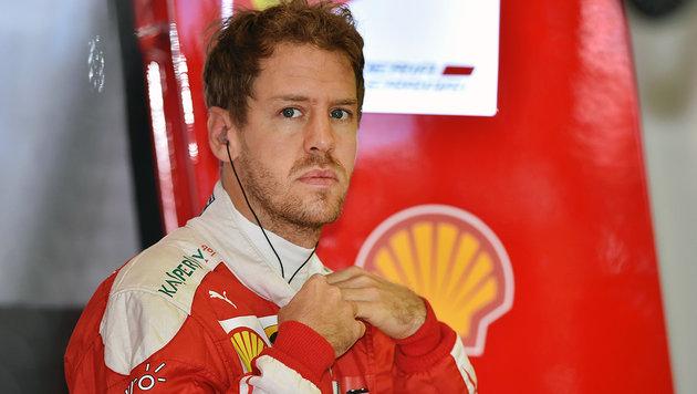 Strafversetzung! Vettel muss fünf Plätze zurück (Bild: AFP)